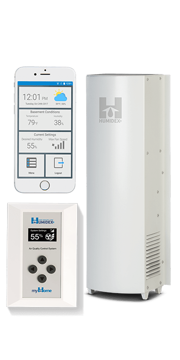 HCS-CmH Humidex Crawlspace Unit with HCS & myHome Technologi ... Image 1