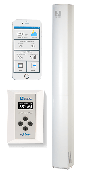 HCS-BmH Humidex Basement Unit with HCS & myHome Technologies Image 1